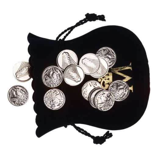 "SILVER WEDDING COINS ""GREEK COINS"""
