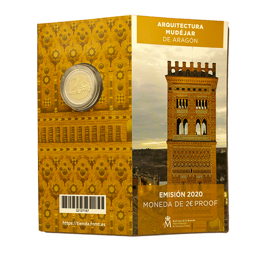 2 EURO PROOF WORLD HERITAGE 2020 MUDEJAR