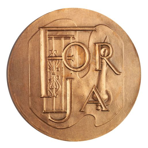 COPPER MEDAL'FORJA'