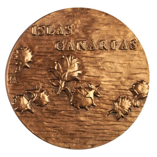 COPPER MEDAL'CANARIAS'