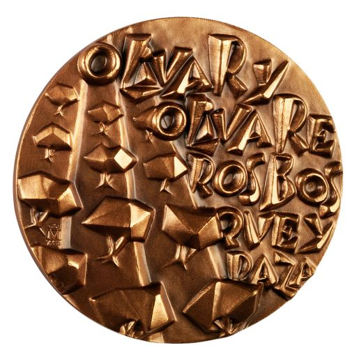COPPER MEDAL 'EL OLIVO'
