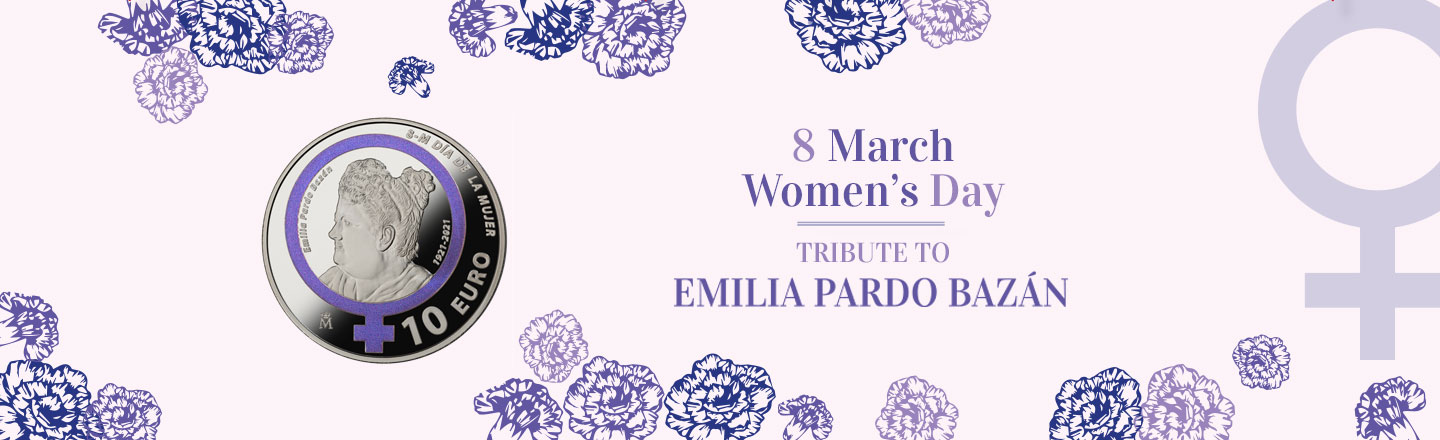 Women's Day - Tribute to Emilia Pardo Bazán