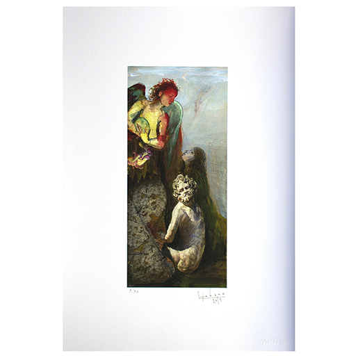 "PRINT ""ANGEL AND STATUE"""