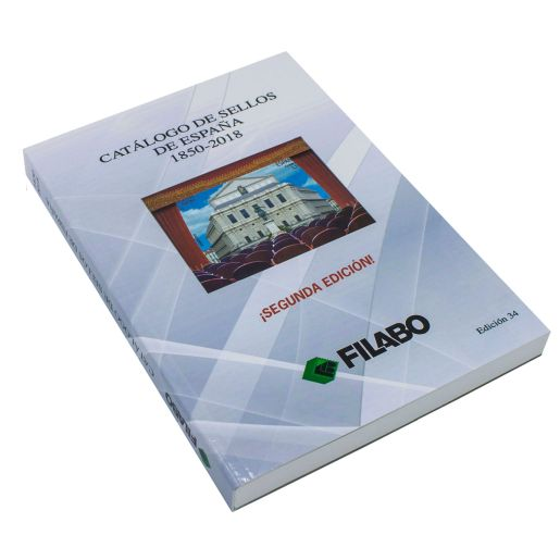 "CATALOGUE OF SPANISH STAMPS ""FILABO"" 1850-2018"
