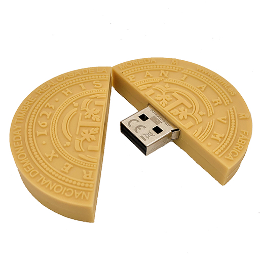 PEN DRIVE 64 GB MONEDA CENTEN