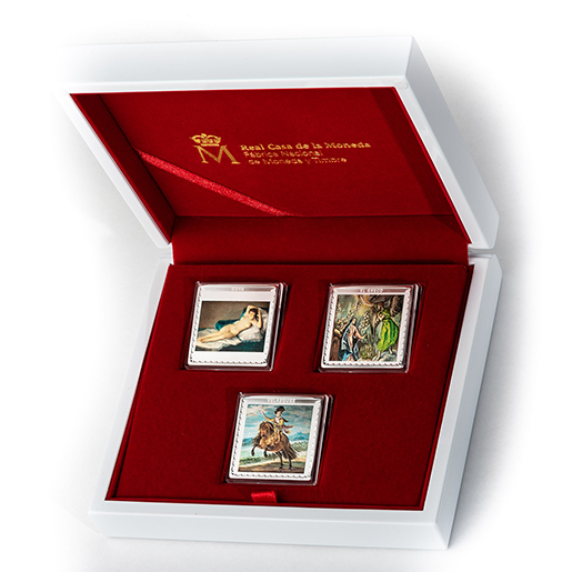 SILVER COLLECTION BICENTENARY PRADO MUSEUM