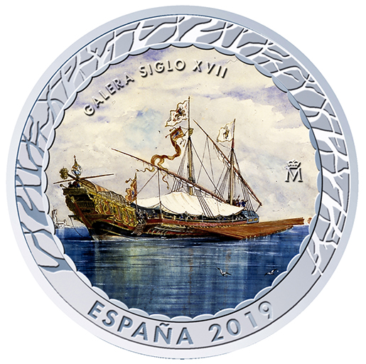 NAVIGATION - 17TH CENTURY SPANISH GALLEY (SERIES III)