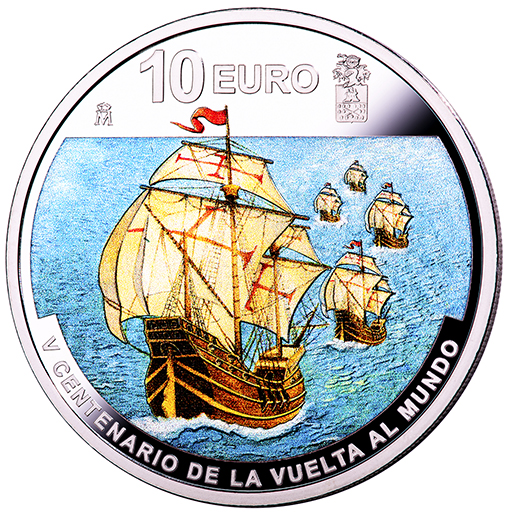 1ST ROUND-THE-WORLD VOYAGE (2019) SILVER COIN