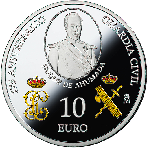 175TH ANNIVERSARY CIVIL GUARD (2019) SILVER COIN