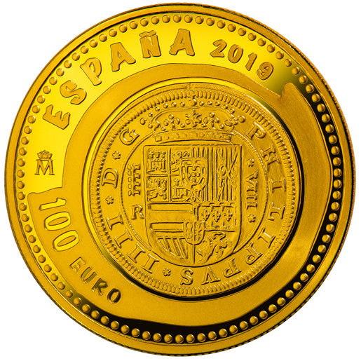 NUMISMATIC TREASURES (2019) HOUSE OF HABSBURG 100 EURO GOLD COIN