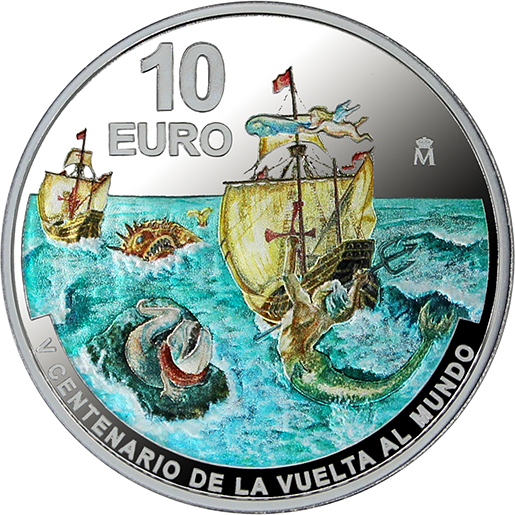 1ST ROUND-THE-WORLD VOYAGE (2020) SILVER COIN