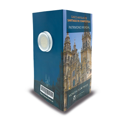 2 EURO PROOF WORLD HERITAGE 2018 SANTIAGO