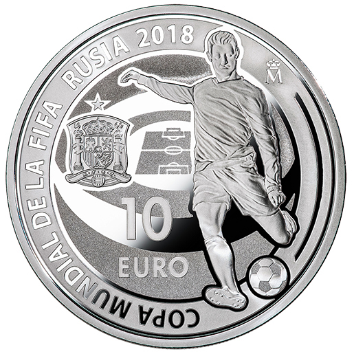FIFA WORLD CUP RUSSIA 2018 (ISSUE 2018) SILVER COIN