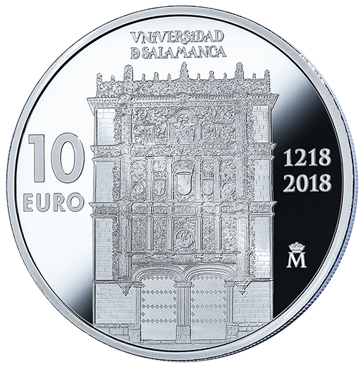 800TH ANNIVERSARY UNIVERSITY OF SALAMANCA (2018) SILVER COIN