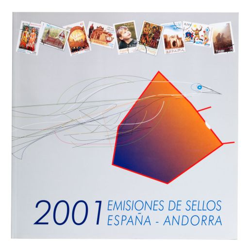 OFFICIAL STAMP ISSUES SPAIN - ANDORRA 2001