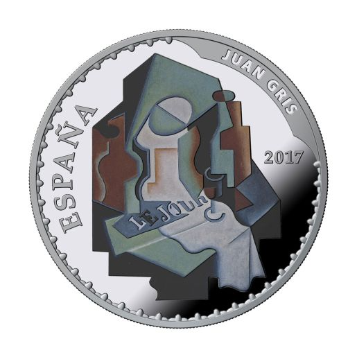TREASURE MUSEUMS (2017) GRIS/DEGAS SILVER COIN