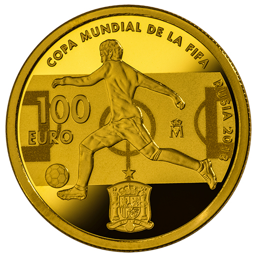 FIFA WORLD CUP RUSSIA 2018 (ISSUE 2018) GOLD COIN