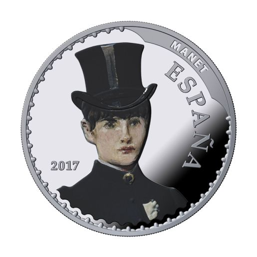 TREASURE MUSEUMS (2017) MANET/LAWRENCE SILVER COIN