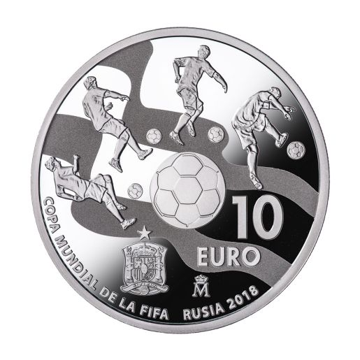 FIFA WORLD CUP RUSSIA 2018 (ISSUE 2017) SILVER COIN