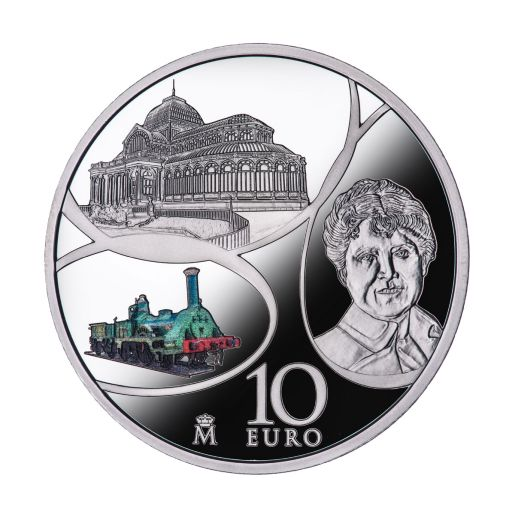 EUROPA PROGRAM 2017 AGE OF IRON & GLASS SILVER COIN