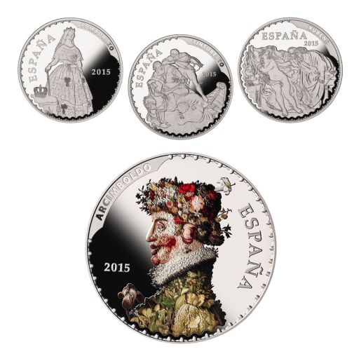 TREASURES MUSEUMS (2015) SILVER SET