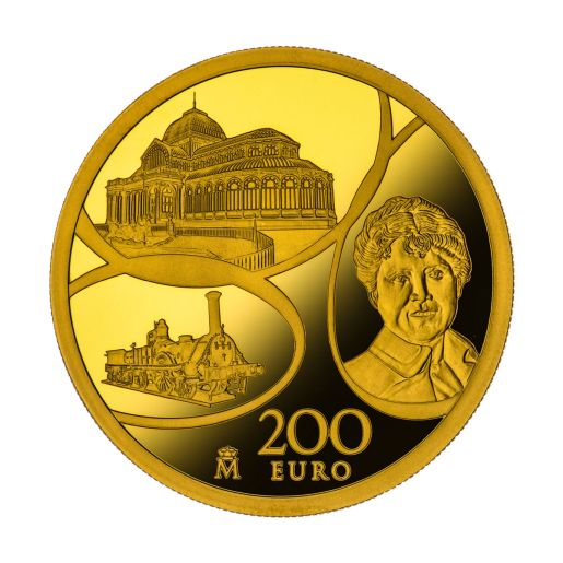 EUROPA PROGRAM 2017 AGE OF IRON & GLASS GOLD COIN