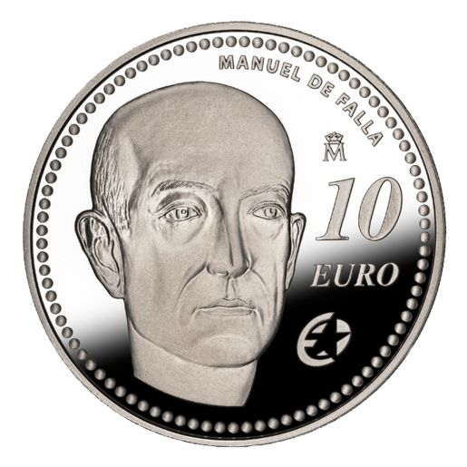 EUROPA PROGRAM 2014 FALLA SILVER COIN