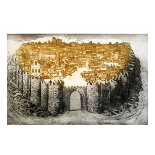 ETCHING 'ÁVILA'