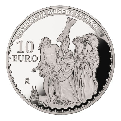TREASURES MUSEUMS (2015) RUBENS  SILVER COIN