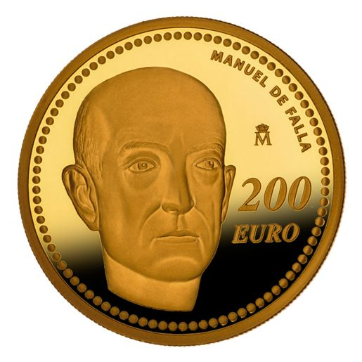 EUROPA PROGRAM 2014 FALLA GOLD COIN