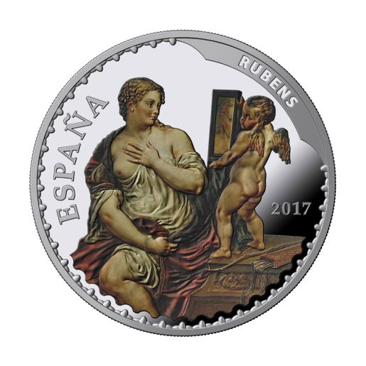 TREASURE MUSEUMS (2017) RUBENS/MURILLO SILVER COIN