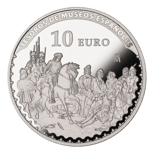 TREASURES MUSEUMS (2015) MADRAZO SILVER COIN