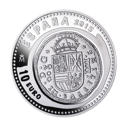 NUMISMATIC TREASURES VI (2015) MADRID MINT  SILVER COIN