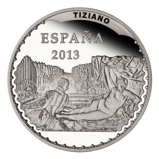 TREASURES MUSEUMS (2013) TIZIANO SILVER COIN