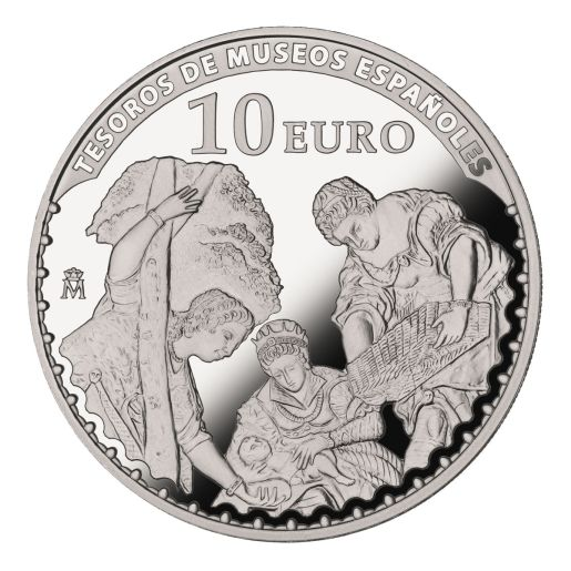 TREASURES MUSEUMS (2015) TINTORETTO SILVER COIN