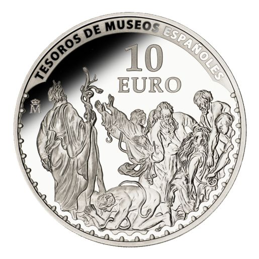TREASURES MUSEUMS (2014) VAN DYCK SILVER COIN
