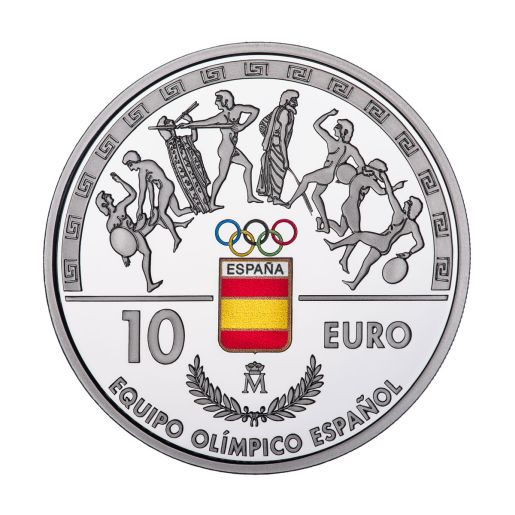 SPANISH OLIMPIC TEAM (2016) SILVER COIN