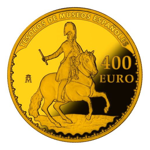 TREASURES MUSEUMS (2015) GOYA GOLD COIN