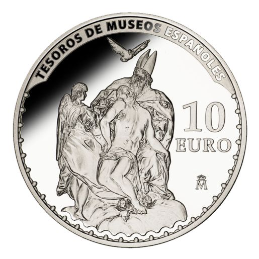 TREASURES MUSEUMS (2014) EL GRECO SILVER COIN