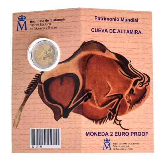2 EURO PROOF WORLD HERITAGE 2015 ALTAMIRA